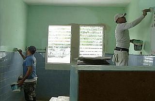reparación hospital